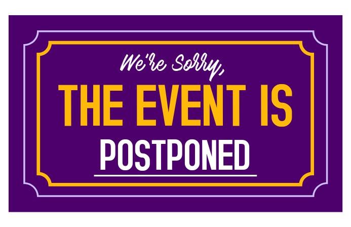 bbq postponed